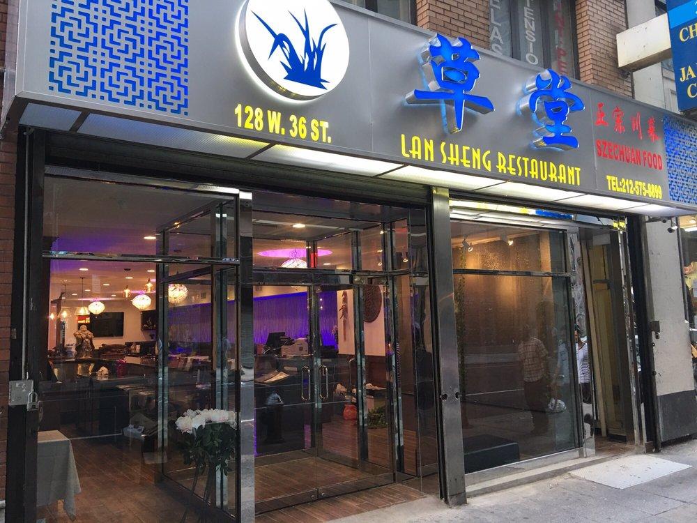 lan sheng szechuan food restaurant in nyc reviews menu